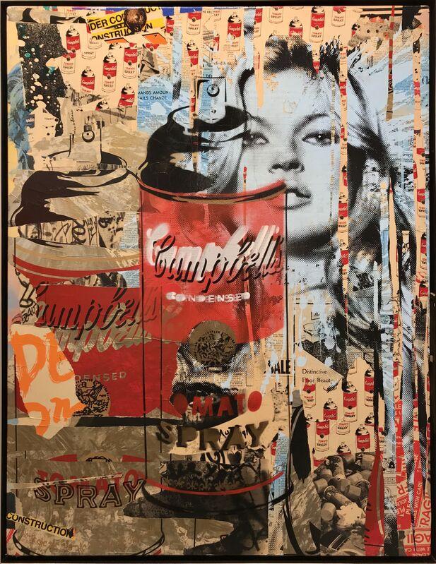 Mr. Brainwash, 'Tomato Spray', 2011, Mixed Media, Mixed media on canvas, Roma Gallery