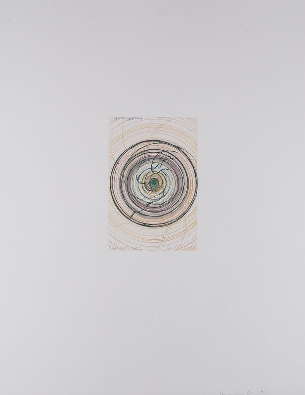 Damien Hirst, 'Spin Me Right Round (from In a Spin, The Action of the World on Things I)', 2002, Print, Etching printed in colours, Forum Auctions