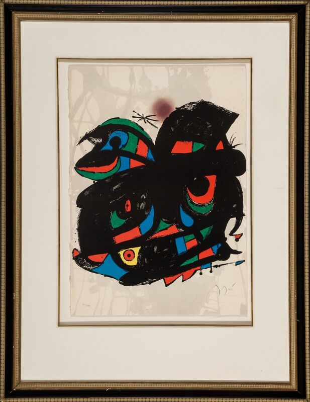 Joan Miró, 'Poster for the Inauguracio Fundació Joan Miró', 1976, Posters, Lithograph in colors on Guarro paper, Heritage Auctions