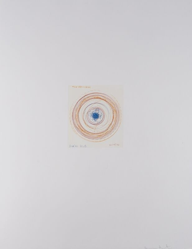 Damien Hirst, 'Wheel Within a Wheel (from In a Spin, The Action of the World on Things I)', 2002, Print, Etching printed in colours, Forum Auctions