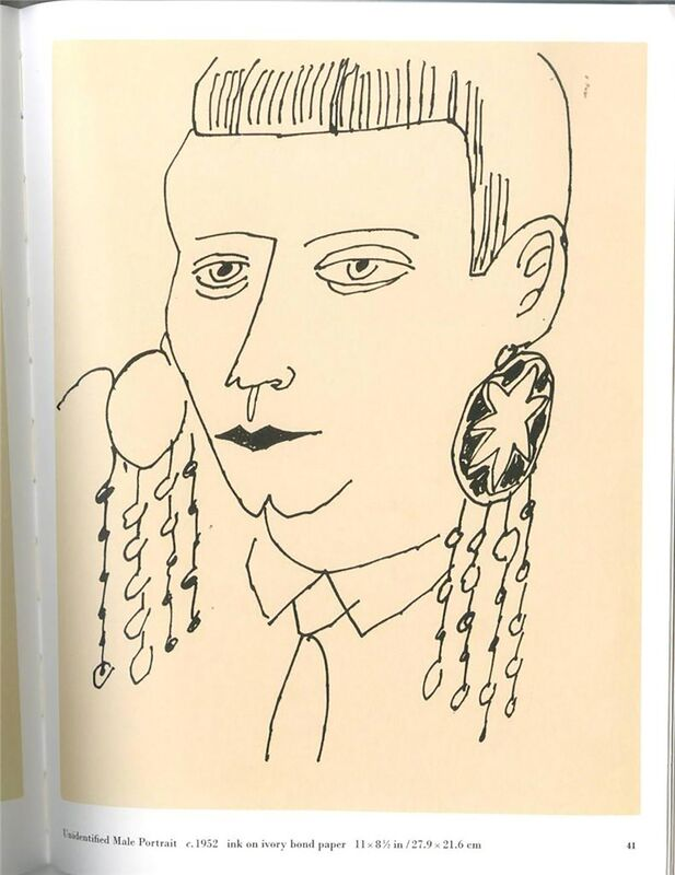 Andy Warhol, 'Rare Lt. Ed Cataogue of Private Drawings from the 1950s ', 2003, Books and Portfolios, Limited Edition Catalogue in stiff wraps (1st Edition), Alpha 137 Gallery