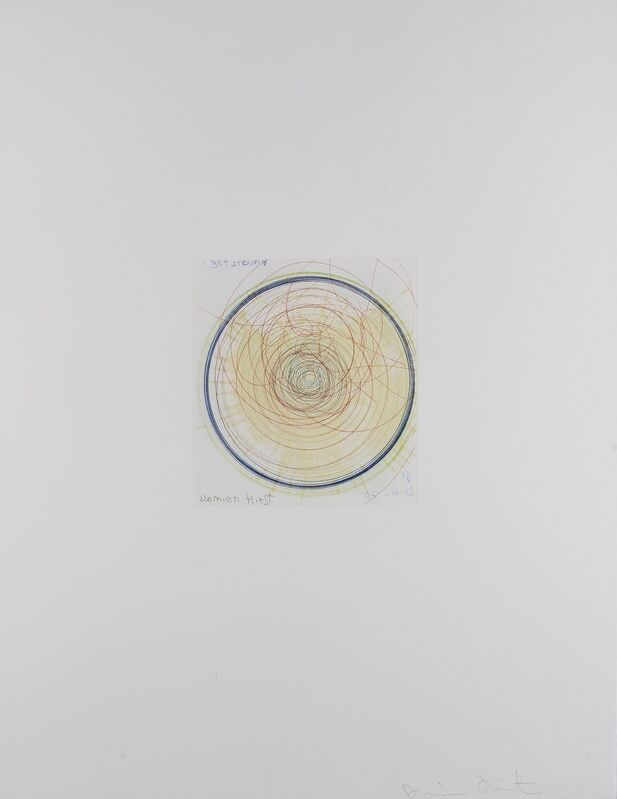 Damien Hirst, 'I Get Around (from In a Spin, The Action of the World on Things I)', 2002, Print, Etching printed in colours, Forum Auctions