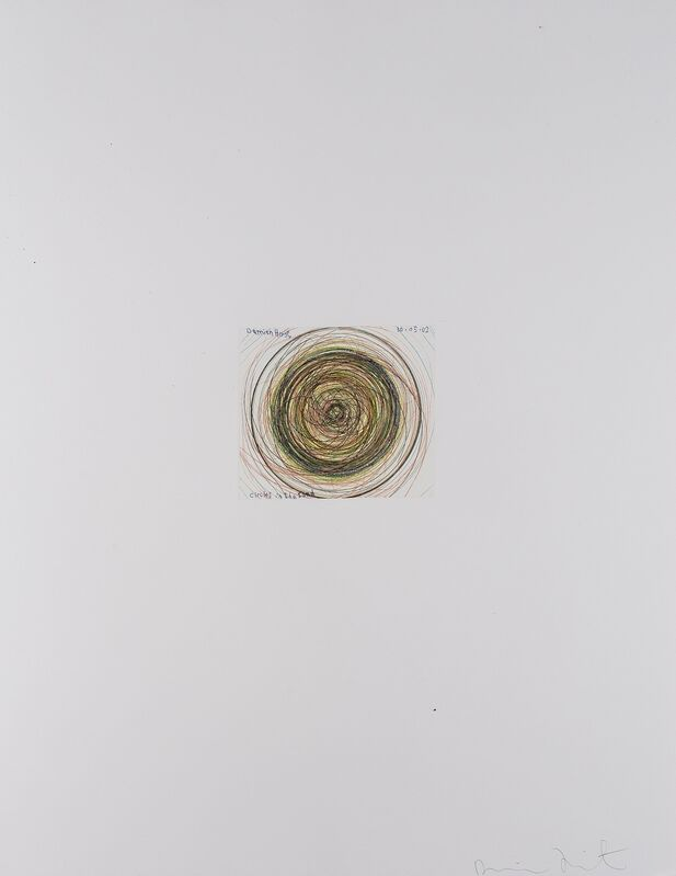 Damien Hirst, 'Circles in the Sand (from In a Spin, The Action of the World on Things I)', 2002, Print, Etching printed in colours, Forum Auctions