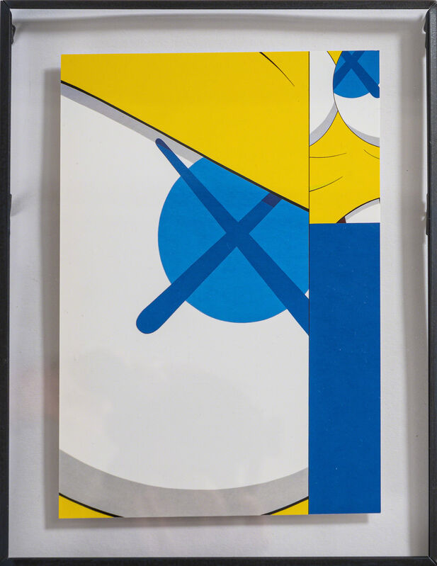 KAWS, 'Two works', Other, Invitation card, DIGARD AUCTION