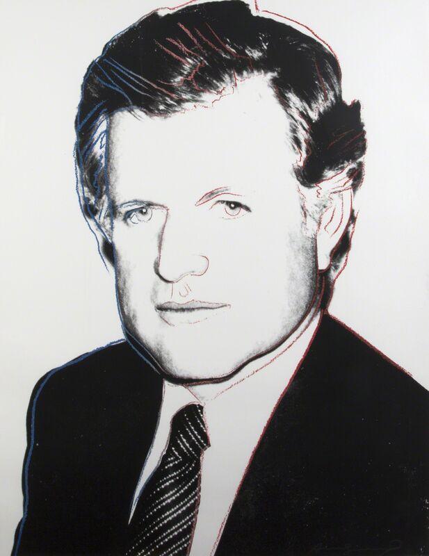 Andy Warhol, 'Edward Kennedy (F. & S. II.240)', 1980, Print, Screenprint on paper with diamond dust, Julien's Auctions