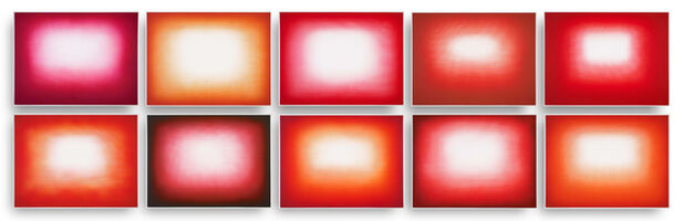 Anish Kapoor, 'Red Shadows Portfolio', 2016