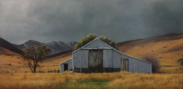 John Toomer, 'Old Shearing Shed in the Lindis, Central Otago', 2019