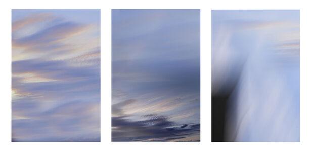 Maja Petric, 'Blue (Triptych)', 2018