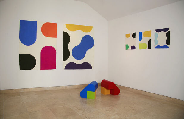 Multiplied at Christie's South Kensington, installation view