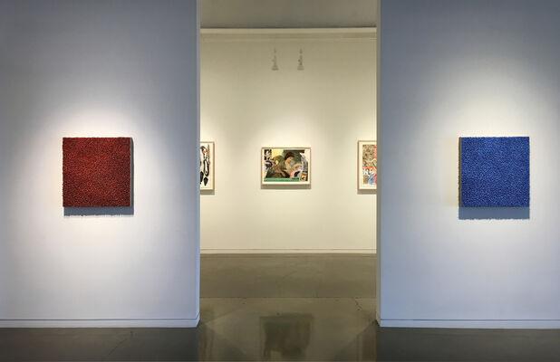 Robert Sagerman: Efflux, installation view