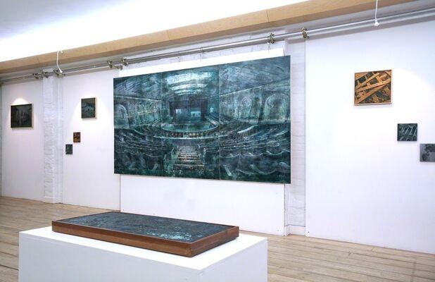 Exhibit A, installation view