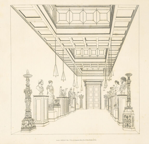 Thomas H. Hope, 'Household furniture and interior decoration executed from designs', 1807