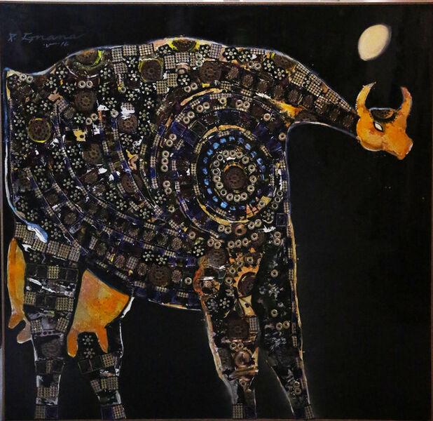 P Gnana, 'Lunar Goddess Almighty', 2016