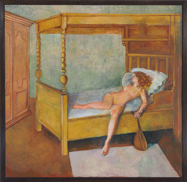 Balthus, 'Odalisque allongée', 1998-1999