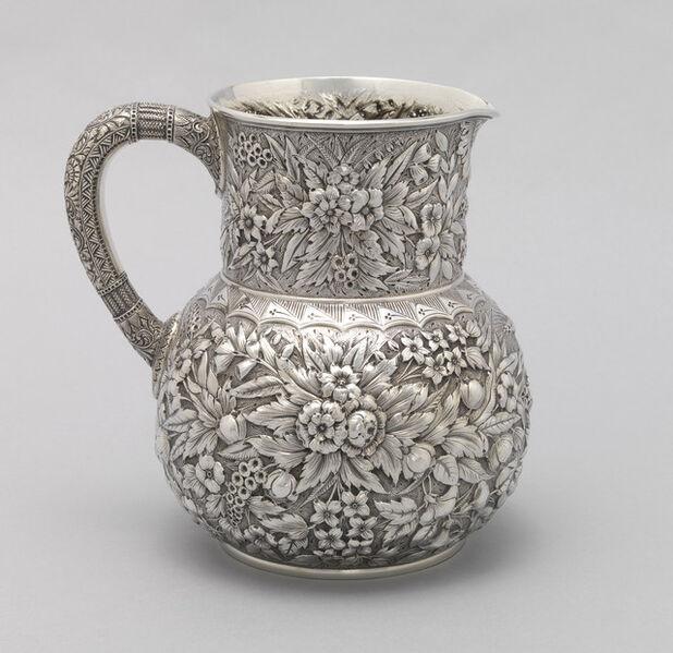 Tiffany & Company, 'Pitcher', 1865-1870