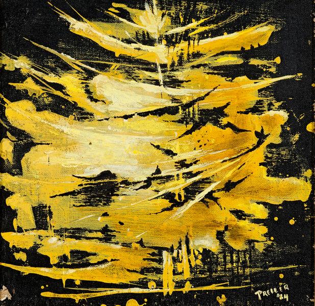 Alexis Preller, 'Abstract Composition'
