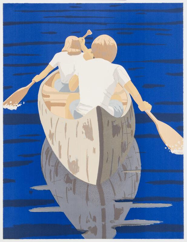 Alex Katz, 'Good Morning', 1975, Print, Screenprint, Frank Fluegel Gallery