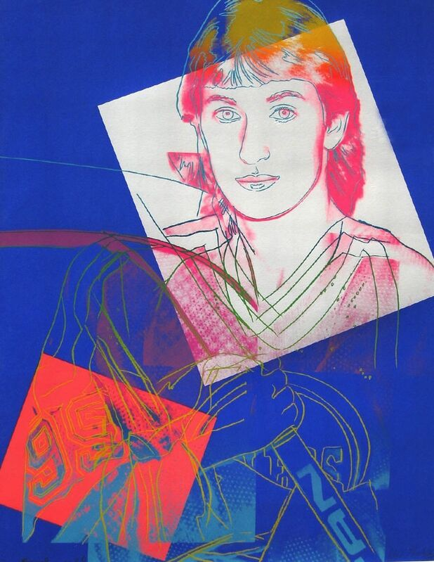 Andy Warhol, 'Wayne Gretzky (FS II.306) ', 1984, Print, Screenprint on Lenox Museum Board., Revolver Gallery