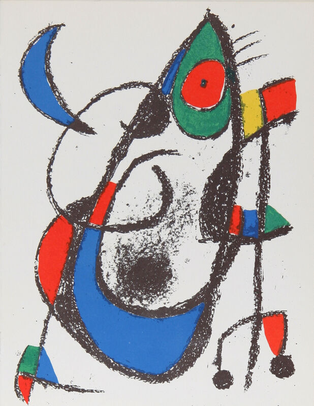 Joan Miró, 'Lithographs II (11)', 1975, Print, Lithograph, RoGallery