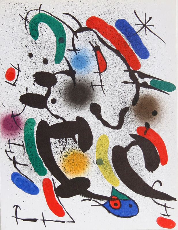 Joan Miró, 'Lithograph VI (842)', ca. 1970, Ephemera or Merchandise, Lithograph, RoGallery