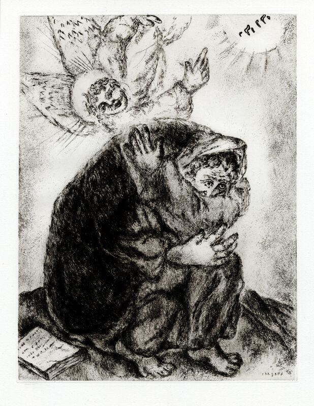 Marc Chagall, 'Prière d' Ésaïe (Isaiah's Prayer)', 1956, Print, Etching, Goldmark Gallery