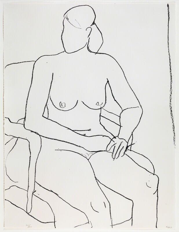 Richard Diebenkorn, 'Seated Nude', 1965, Print, Lithograph, Susan Sheehan Gallery
