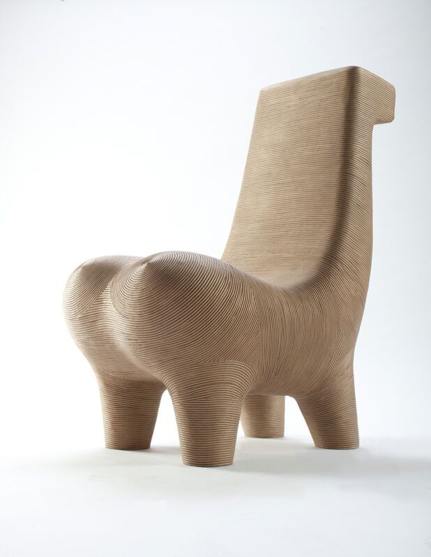 Satyendra Pakhalé, 'BM Horse Chair', 2007/08, Design/Decorative Art, Bright bronze with sandblasted surface, ammann//gallery