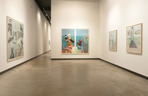 Water, installation view