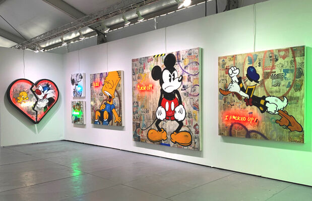 Galerie LeRoyer at SCOPE Miami Beach 2019, installation view
