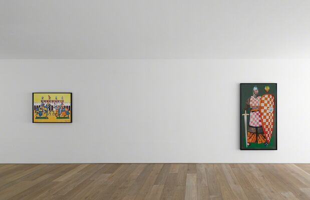 Malcolm Morley — History Painting, installation view