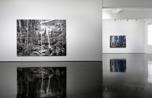 The Landspace [all the debils are here], installation view