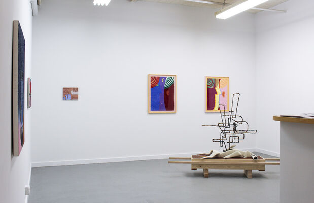 Visitors from Shallow Space, installation view