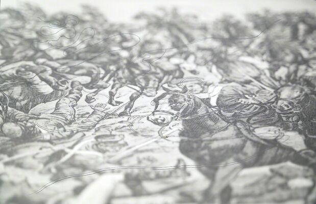 Polígrafa Obra Gráfica at Art Basel 2016, installation view