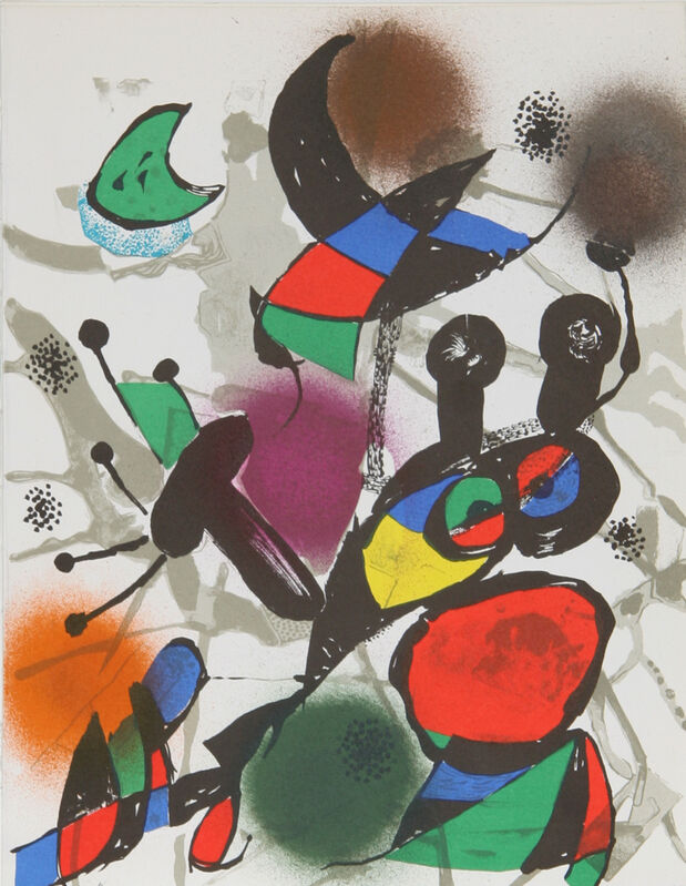 Joan Miró, 'Lithograph II (1114)', 1975, Print, Lithograph, RoGallery