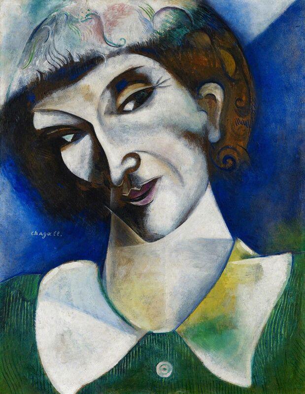 Marc Chagall, 'Self-Portrait ', 1914, Painting, Kunstmuseum Basel