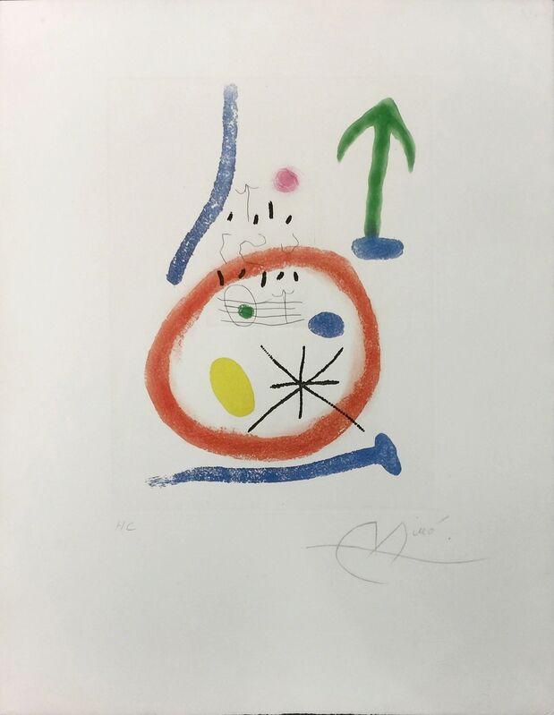 Joan Miró, 'CHEMIN DE RONDE III', 1966, Print, ETCHING & AQUATINT, Gallery Art