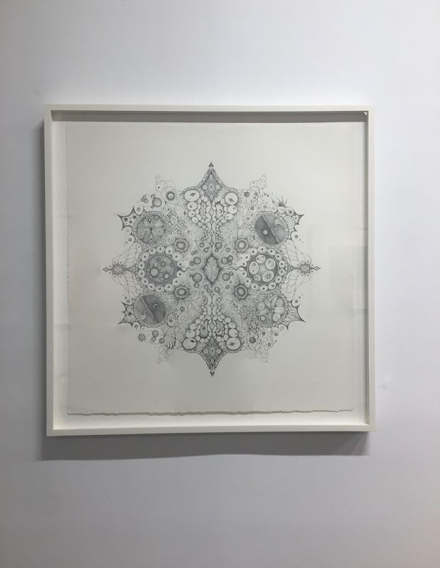 """Michiyo Ihara, 'Snowflakes #125 """"Oneness""""', 2015, Drawing, Collage or other Work on Paper, Graphite on paper (hand-drawn), Kenise Barnes Fine Art"""