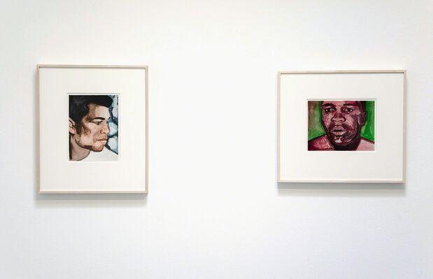 Salomón Huerta, installation view