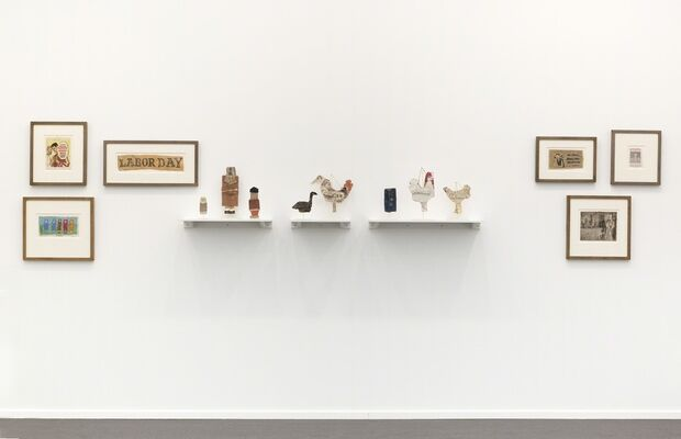 Fleisher/Ollman at Frieze Masters 2017, installation view