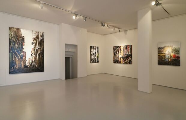 """Ronald Dupont """"City Pulses"""", installation view"""