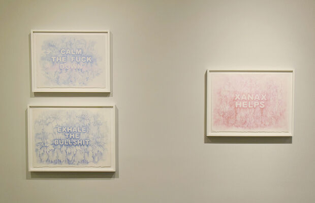 POWER OF PASTEL: Soothing Effects of Color, installation view