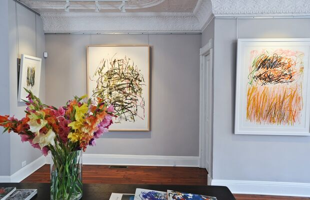 Visual Poetry: An Exhibition of Abstract Expressionist Prints by Joan Mitchell, installation view