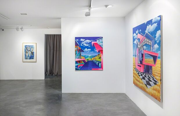 Painted Images, installation view