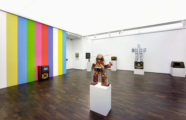 Joseph Beuys - Nam June Paik, installation view