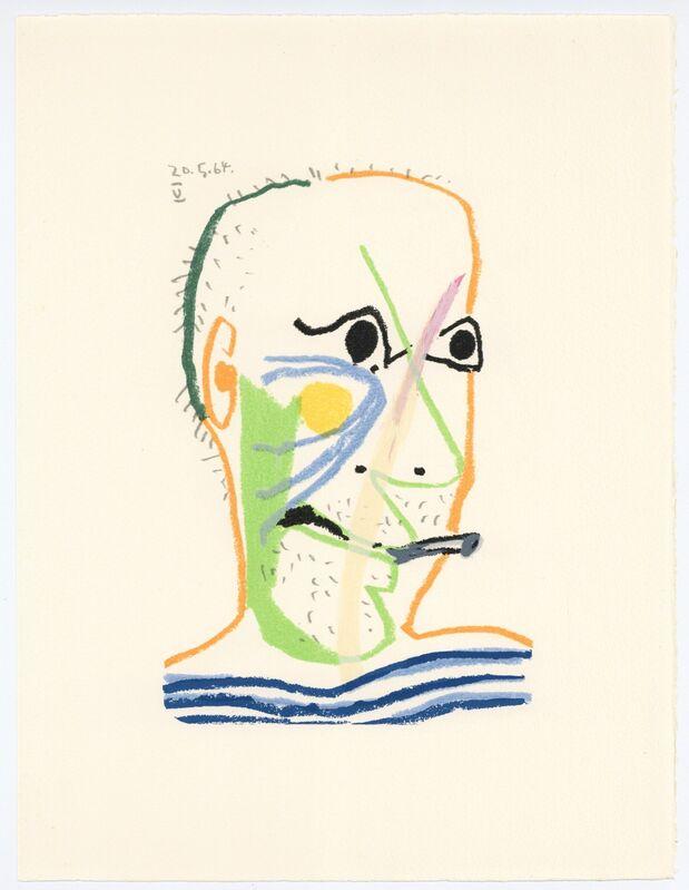 Pablo Picasso, 'Le Gout du Bonheur', 1970, Reproduction, Lithograph in colours, artrepublic