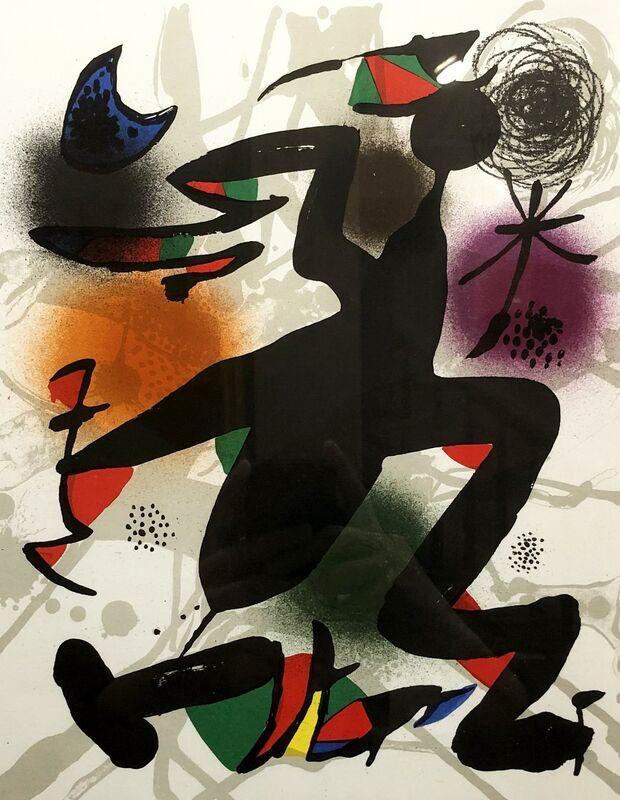 Joan Miró, 'Plate IV', 1977, Print, Lithograph, Georgetown Frame Shoppe