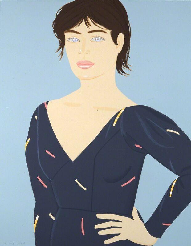 Alex Katz, 'Grey Dress', 1992, Print, Hand-signed serigraph, Martin Lawrence Galleries