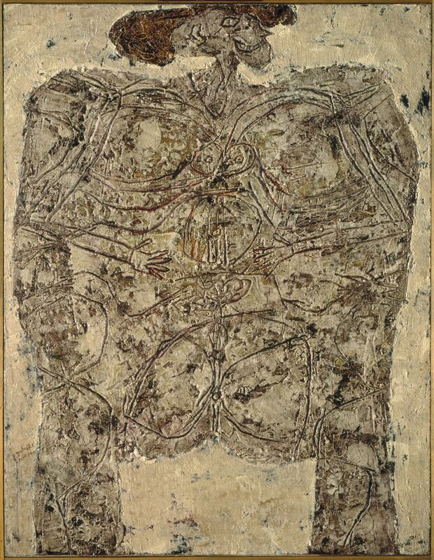 Jean Dubuffet, 'Metaphysics ', 1950, Painting, Oil on canvas, Art Resource