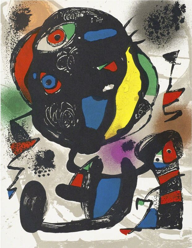 Joan Miró, 'Untitled ', 1981, Print, Original lithograph on Rives vellum paper, michael lisi / contemporary art