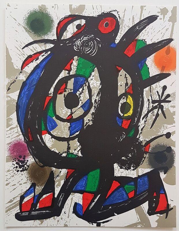 Joan Miró, 'Lithographie Originale I', 1977, Print, Color Lithograph, Cerbera Gallery
